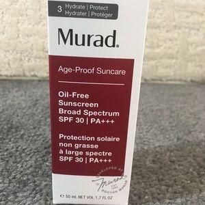 Murad oil- free sunscreen SPF 30